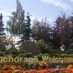 Anchorage Welcomes you sign in Alaska.