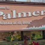 Welcome to Palmer sign in Alaska.